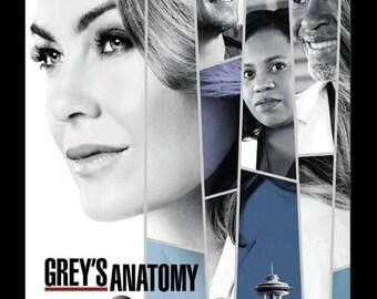 Grey's Anatomy (24x36) - Framed Poster