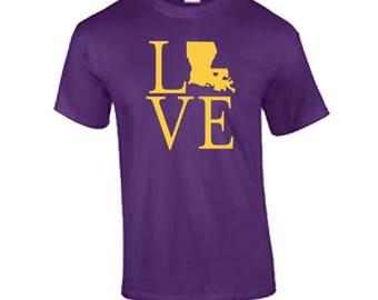 I love Louisiana T Shirt