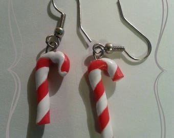 "Earring ""sugar candy Christmas"""