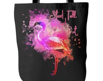 Flamingo Tote Bag, pink flamingo gifts, flamingo gift, flamingo gift ideas, unique flamingo gifts, flamingo merchandise, flamingo beach bag