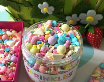 Easter Bunny Sprinkle Mix (175g Jar)