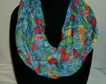 Summer Infinity Scarf