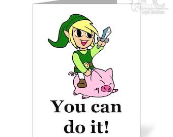 Legend of Zelda  Inspiration Greeting Card