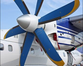 Poster, Many Sizes Available; Propeller Of The Antonov An-140-100