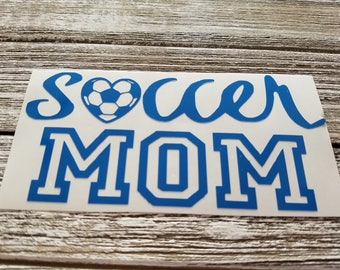 Soccer Mom Vinyl for Yeti/tumbler/wine/beer glass! Great Gift!