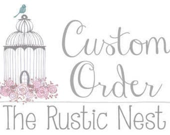Custom Love Remains Wooden Sign for Annie