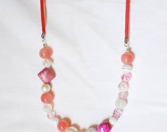 Pink Lady - necklace