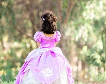 Sofia the first/ sofia the first inspired dress/ sofia the first costume/ princess dress