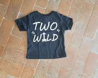 Two Year Old Birthday Shirt Boy, Boy 2 Year Old Birthday, Boy Birthday Shirt, Two Wild, Two Wild Boy Shirt, 2 Wild Birthday, Two Wild Shirt