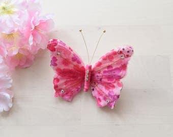handmade Butterfly hairclip
