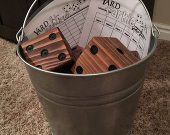 Outdoor Dice Game - Yardzee and Farkle
