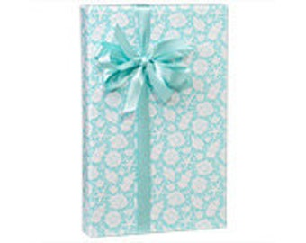 Sea Shells  Gift Wrap Wrapping Paper-18ft Roll w. 20Gift Tags