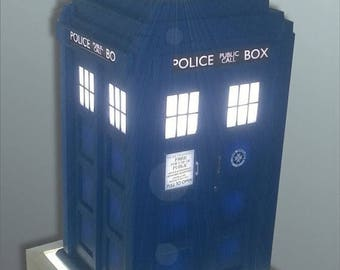 ON SALE NOW Tardis Inspired Table Lamp