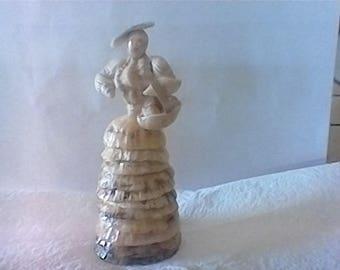 Shell doll handmade