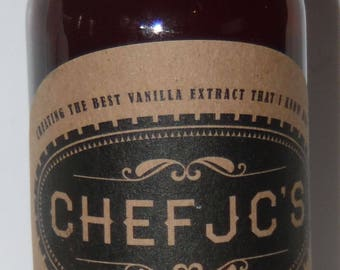 Chef JC's Madagascar Vanilla Extract 4 oz