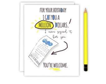 Friend Birthday Card - Card for Friend - Birthday Card - Best Friend Birthday Card