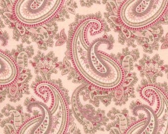 Paris Flea Market 3730-16 Ballet Slipper Pink Paisley