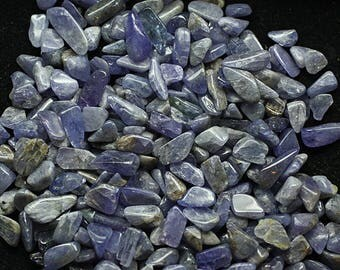 ONE Bag of Polished Tanzanite, Tanzania  - Minerals for Sale