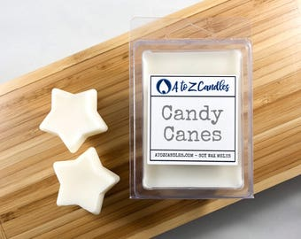 Candy Cane Wax Melts, Candy Cane, Peppermint Wax Melts, Peppermint Wax Tarts, Mint Wax Melts, Candy Cane Wax Tarts, Holiday Wax Melts