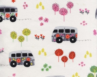 Road Trip by Michael Miller - Hit The Road Happy - Cotton Woven Fabric