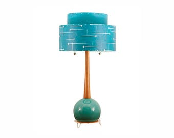 Metal Lamp and Shade 228