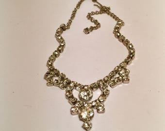 Crystal Rhinestine Necklace