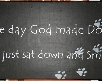 God smiled