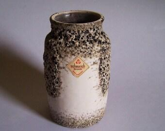 Scheurich Keramik Studio Art Pottery - Volcanic Lava Glaze - Mid Century Vase - ca. 1960/70s - Made in West Germany