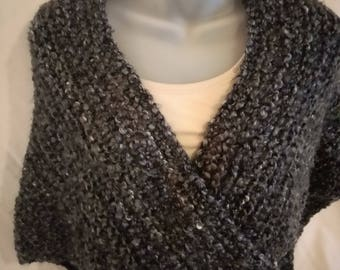 Charcoal Gray Shawl