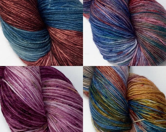OOAK's - Hand dyed on Authentic Sock