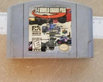 F1 World Grand Prix for N64 Nintendo 64
