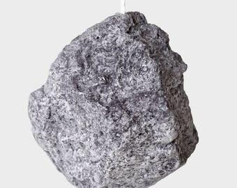 Big Stone Candle (12x12 sm, 500gr)