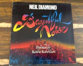 Neil Diamond Beautiful Noise Vintage Vinyl Record LP 1976