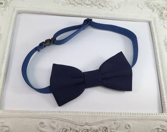 Bow tie Navy Blue - child