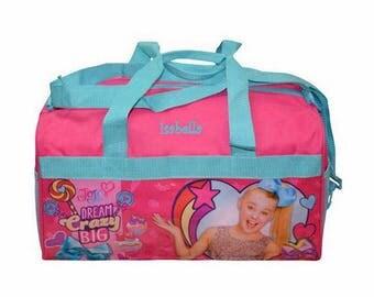 "Personalized JoJo Siwa Kids Travel Duffel Bag - 18"""