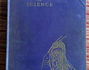 50s Textbook,Retro Science Book,Wonder Book,Science Illustration,Science Textbook,Retro Textbook,HB English,Science Ephemera,50 Science Book