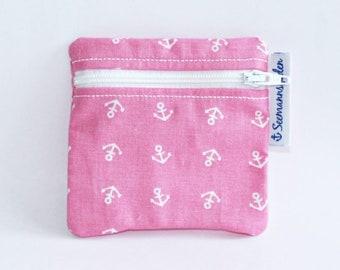 "Mini-bag ""anchor"", pink"