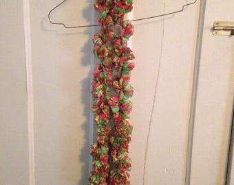 Crocheted Ruffle Scarf