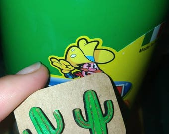Cactus Stud Earrings