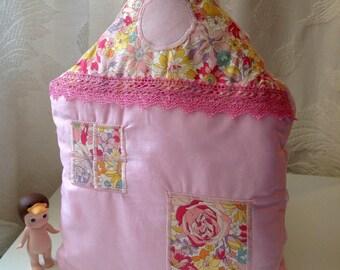 Liberty Cushion Pink House