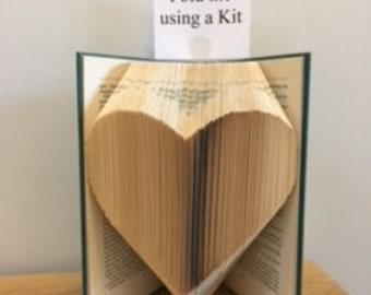 Book Folding Kit - Beginners Heart