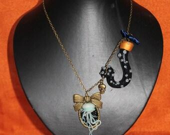 """""""Twenty thousand leagues under the sea"""" necklace"""