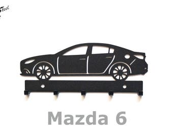 Mazda 6 key rack car gift idea home decor