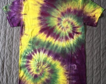 Tie Dye Shirt Double Spiral Grateful Dead
