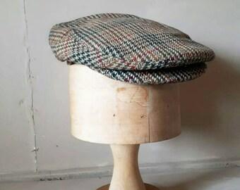 Tweed Flat Cap Dunn & Co