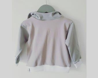 Mauvey-Grey Baby Girl Hoodie, Baby Hoodie, Baby Fashion, Baby Girl, Organic Cotton