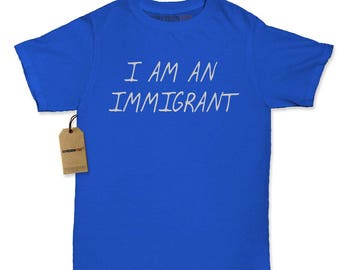I Am An Immigrant Womens T-shirt