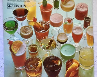 Ten for Cocktails: Mr. Boston Vintage Vinyl LP Record Sixties Music Great Gift!