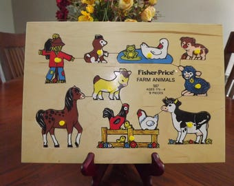 Fisher Price Farm Animals 507