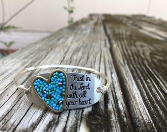 Quote Stackable Bracelets